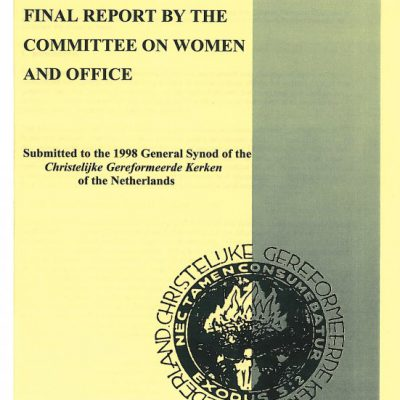 Final report 'Women and office' 1998