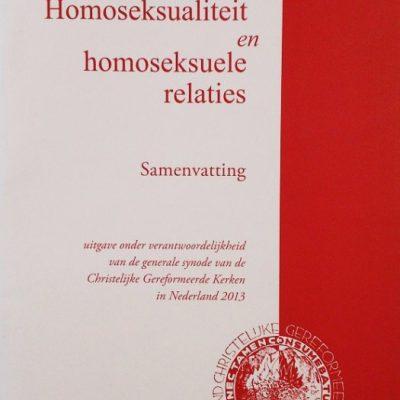 Homoseksualiteit - samenvatting