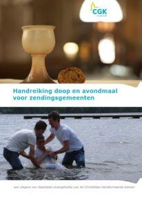 EV - handreiking doop en avondmaal