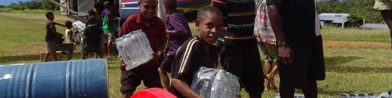 Papoea-Nieuw-Guinea bemoedigd door noodhulp