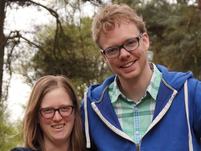 Mark en Hanneke Veurink naar Menorah Zaanstad