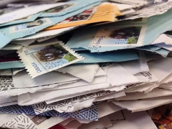 postzegels en kaarten