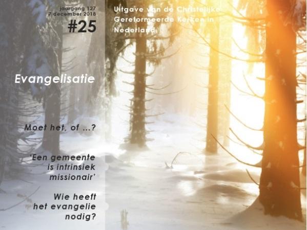 Themanummer 'evangelisatie' van De Wekker