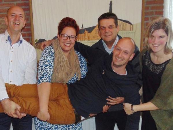 Martijn is weer terug in Nederland