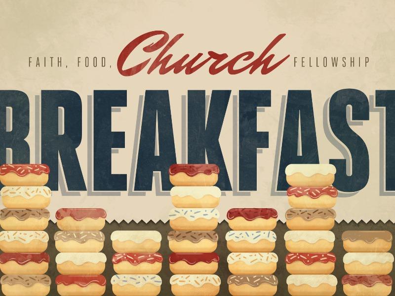 ontbijt in de kerk