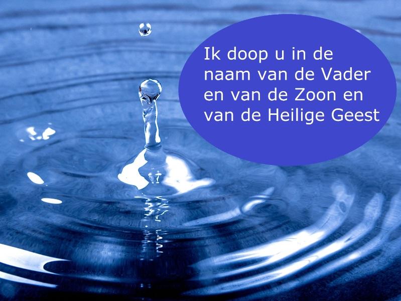 grote doopdienst in Breda