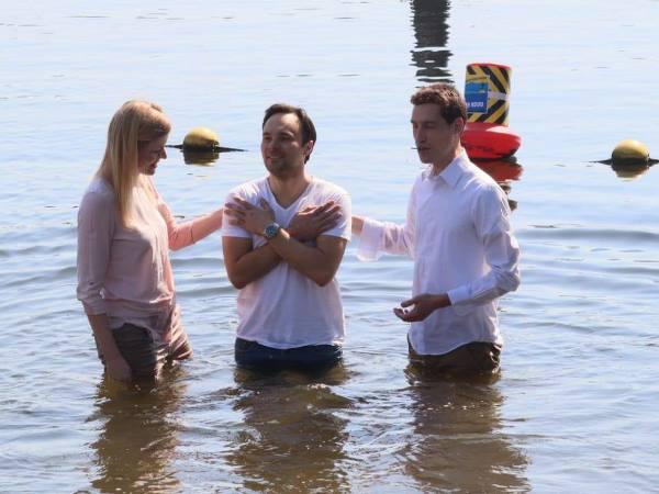 dopen met Pasen