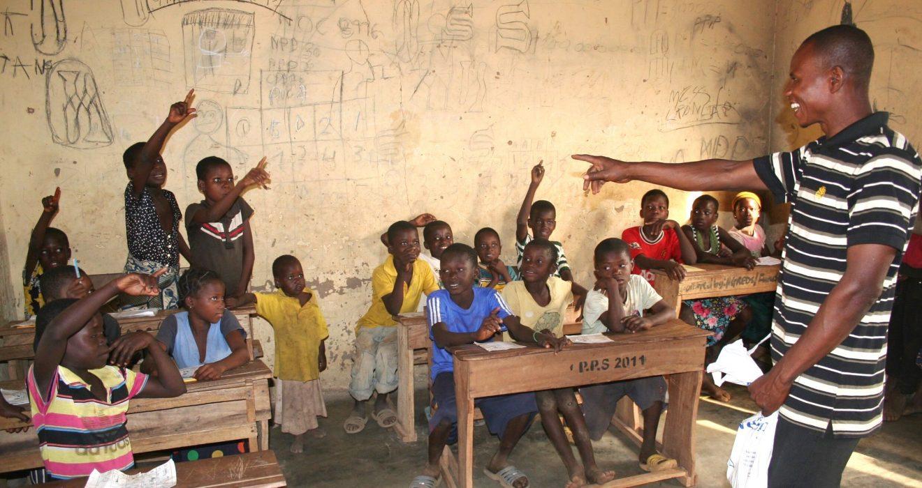 Ghana alfabetisering