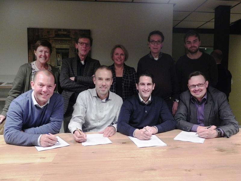 Veenendaal-Bethel ondertekent samenwerkingsovereenkomst