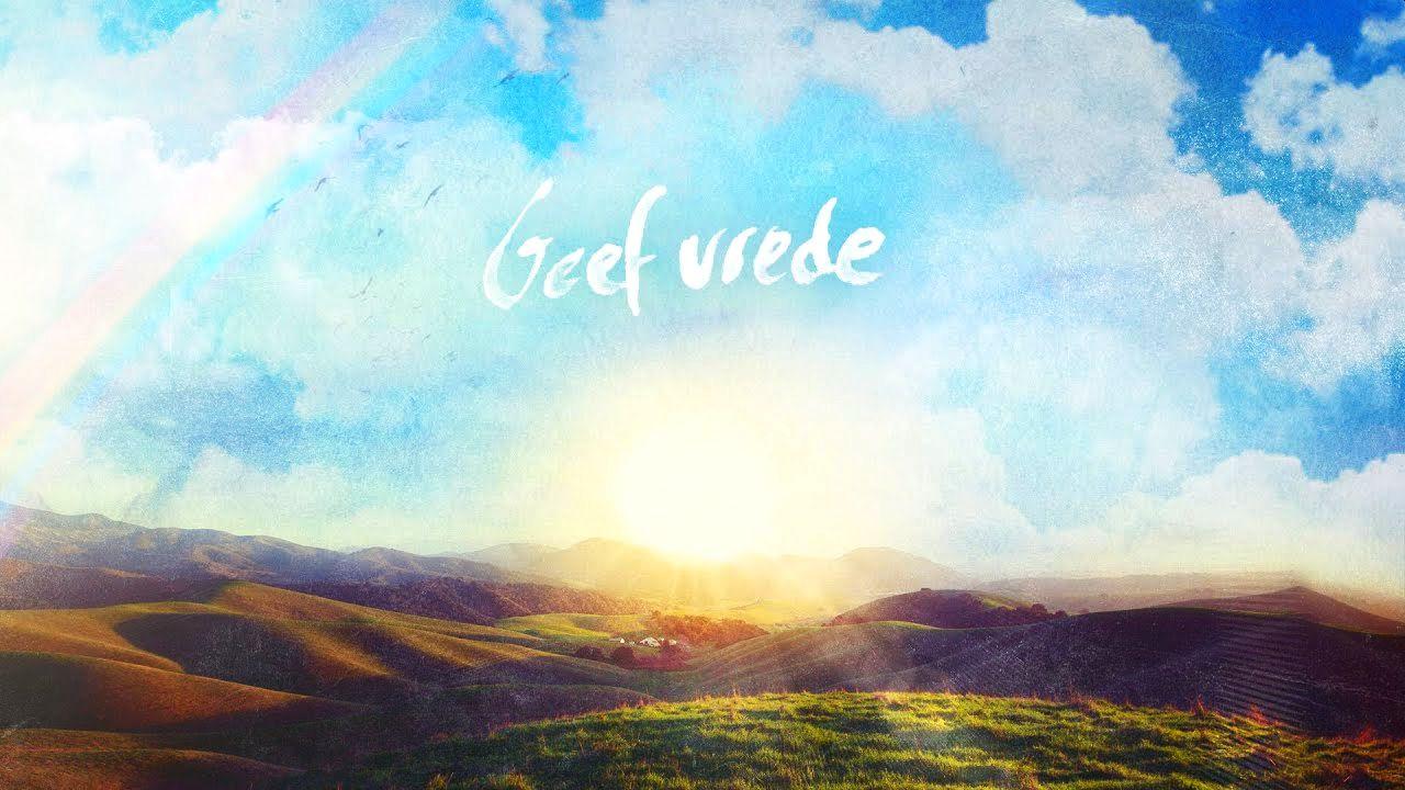 geef vrede Heer