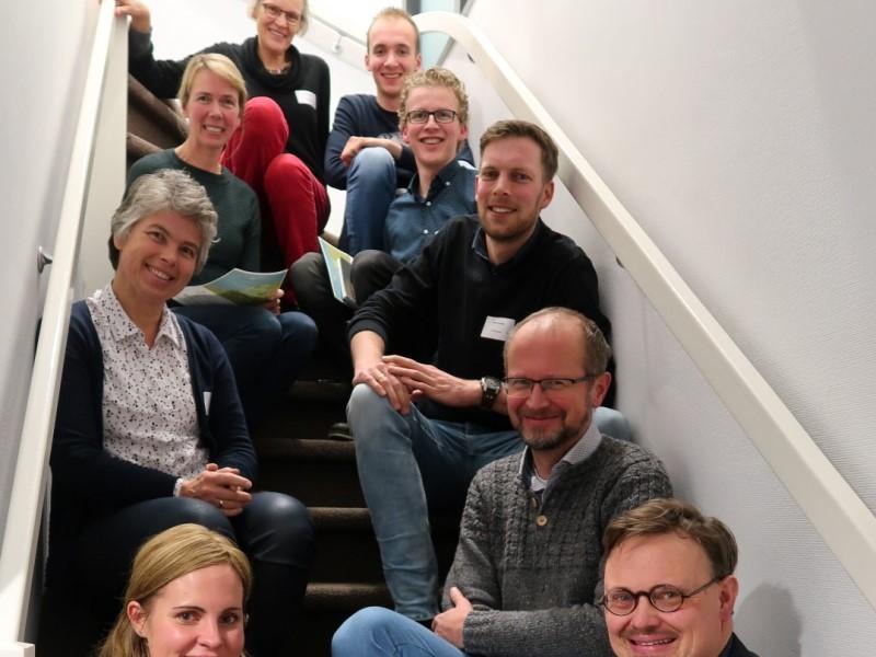 deelnemers uit Bennekom-Oosterbeek, Deventer en Leerdam