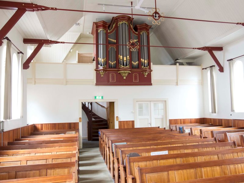 geen maximumgrens aantal kerkbezoekers