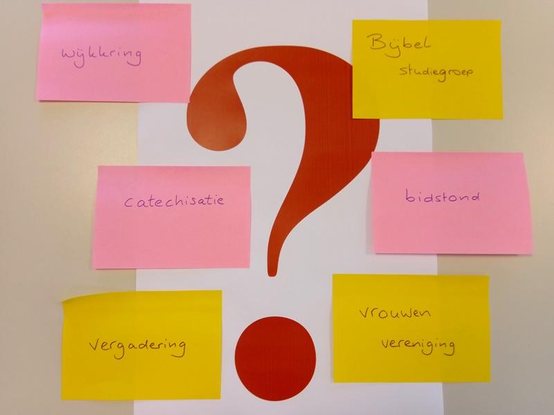 wat gaan we doen met kringen en groepen?