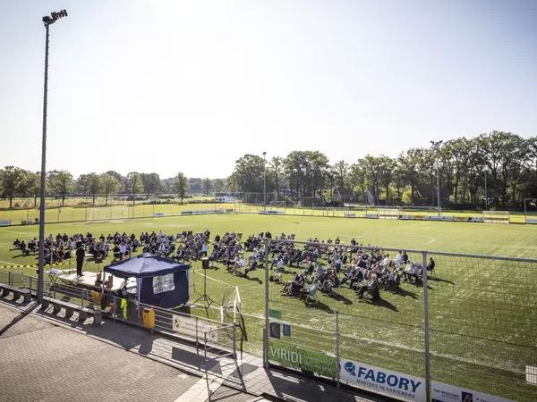 belijdenis op het voetbalveld