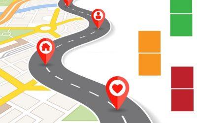 routekaart voor de kerken