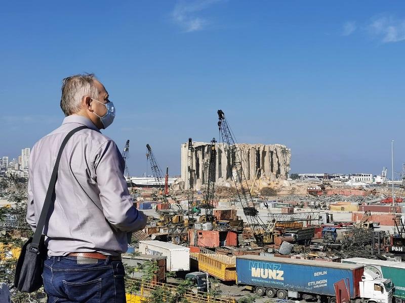 diaconaat CGK helpt Beiroet