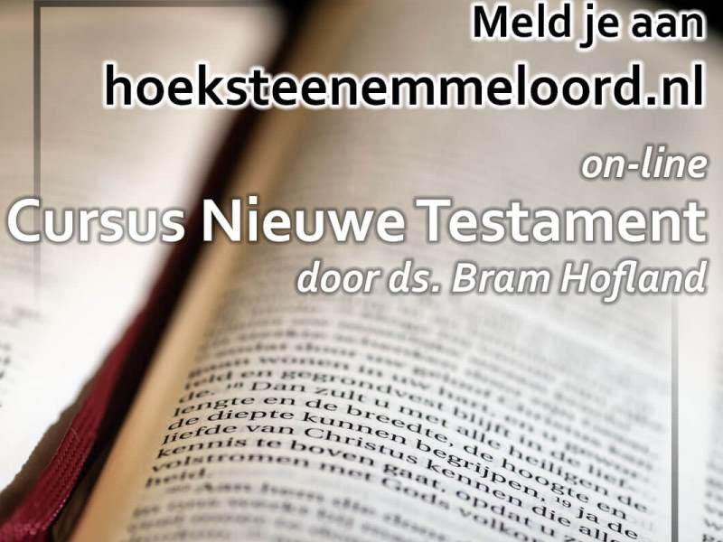 online cursus Nieuwe Testament