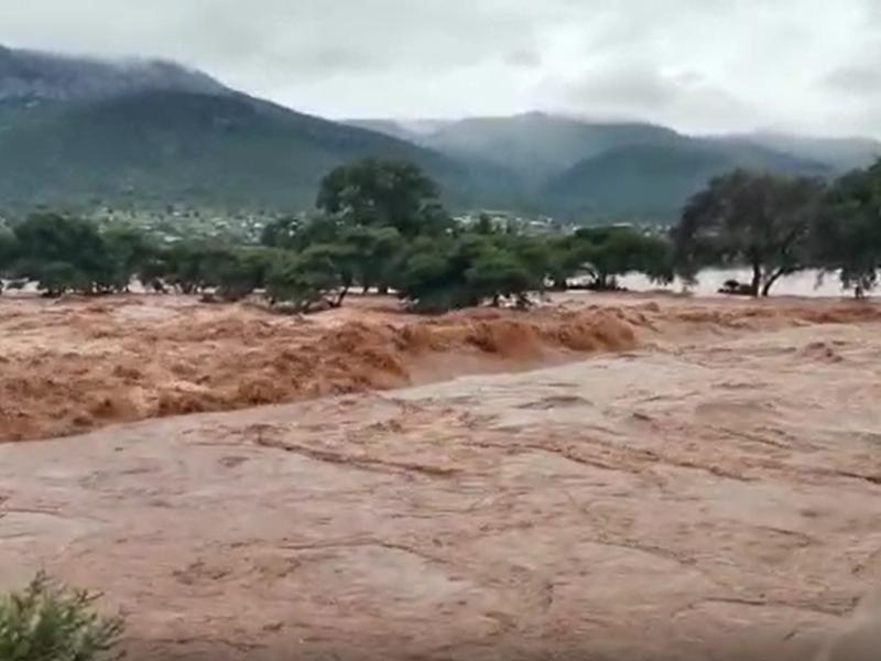 overvloedig water in Zuidelijk Afrika