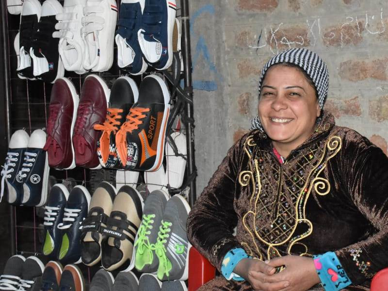 CGK Vrouw steunt vrouwen in Egypte
