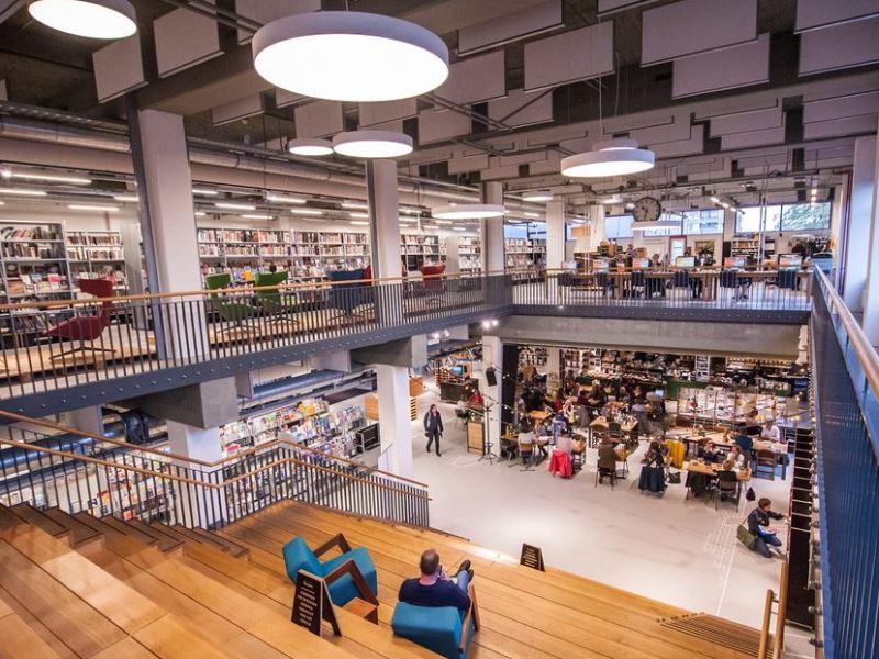 de openbare bibliotheek van Gouda