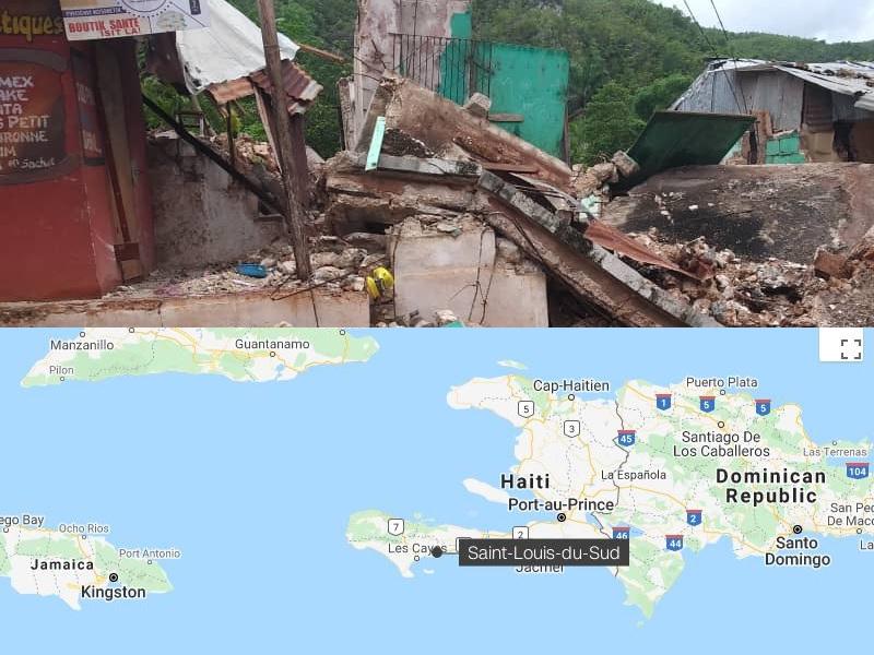 noodhulp Haïti gestart