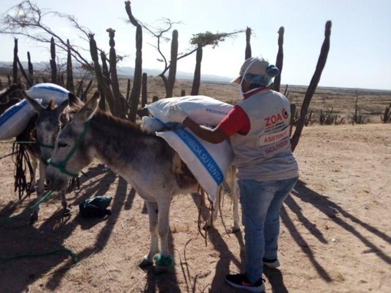 noodhulpactie Colombia geeft 4000 mensen perspectief